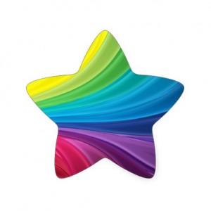 rainbow_star_sticker_scarletquill_zazzle